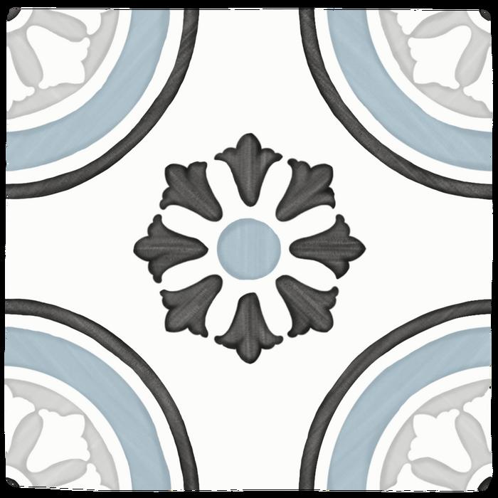 TANGER BLUE DHALIA/12,3X12,3