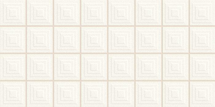 PIQUE MOSAIC WHITE/20X40