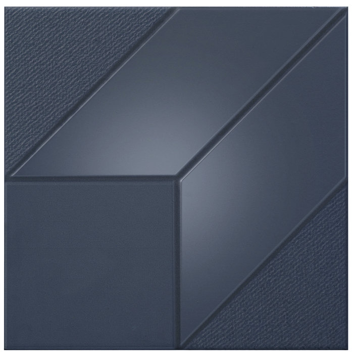 ISO BLUE CUBE/30X30