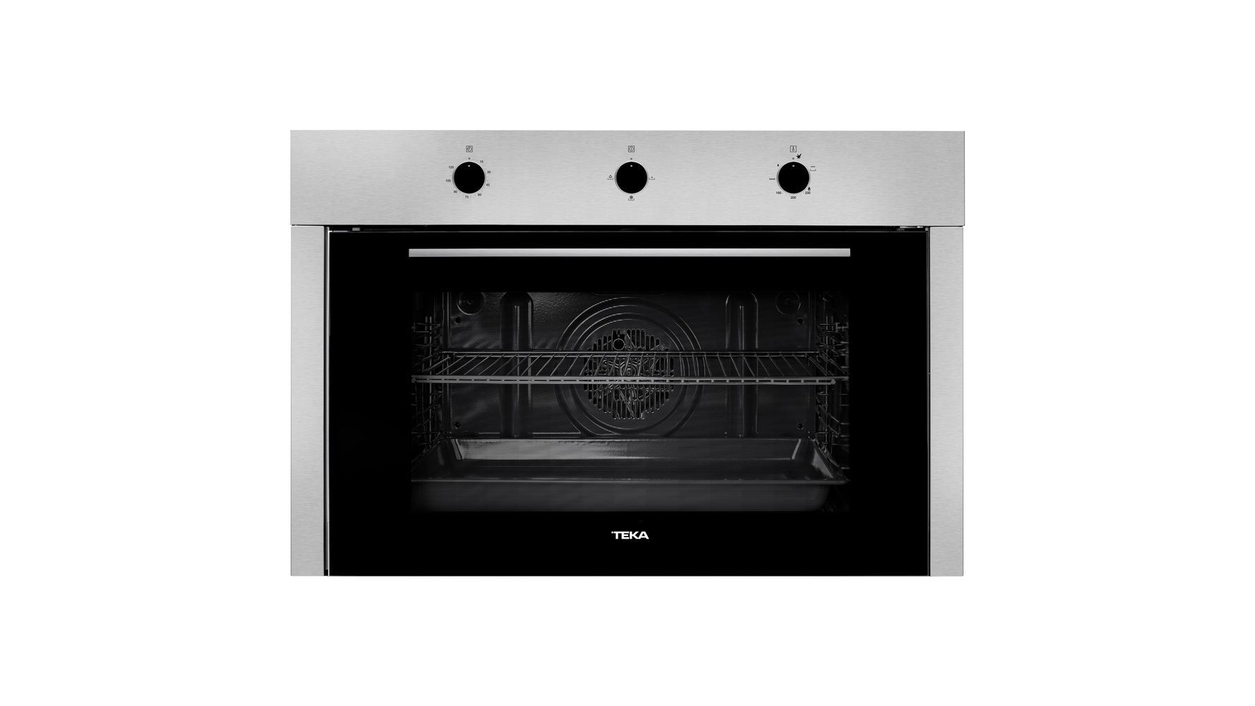 Multifunction oven with HydroClean cleaning system in 90 cm