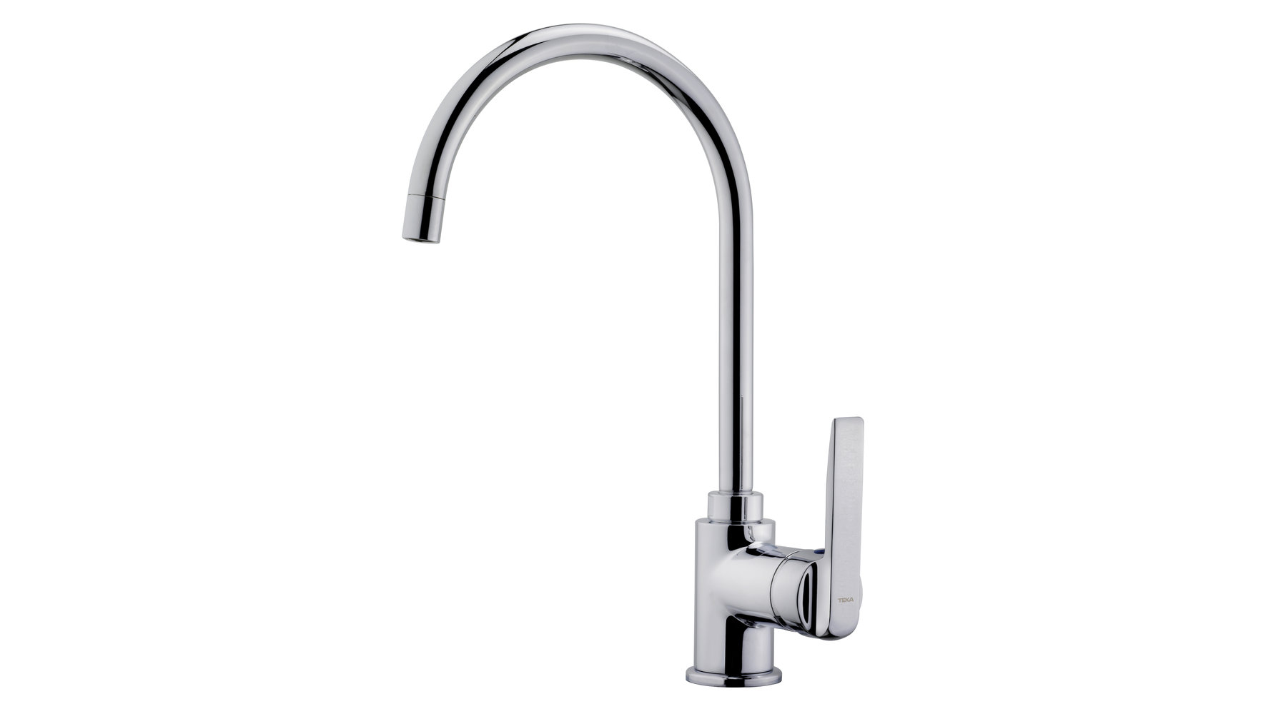 Kitchen faucet mixer with high swivel spout and aerator anticalcáreo