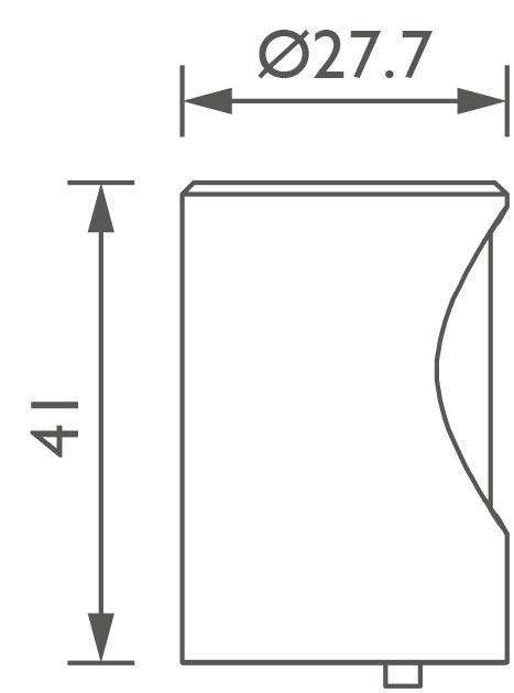 Footlight technical image