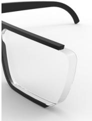 lente reducida con índice 1.6
