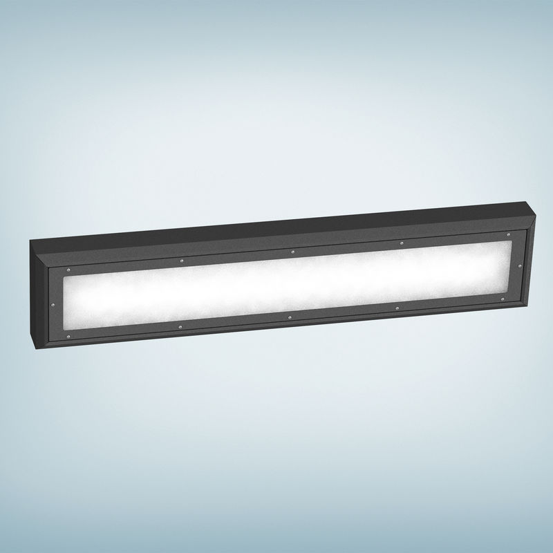 Wall Mounted Light Rail : Wall Mounted Fluorescent Light Fixtures. Amazing Ecobrt R W Cm Long Led Light Bathroom Wall ...