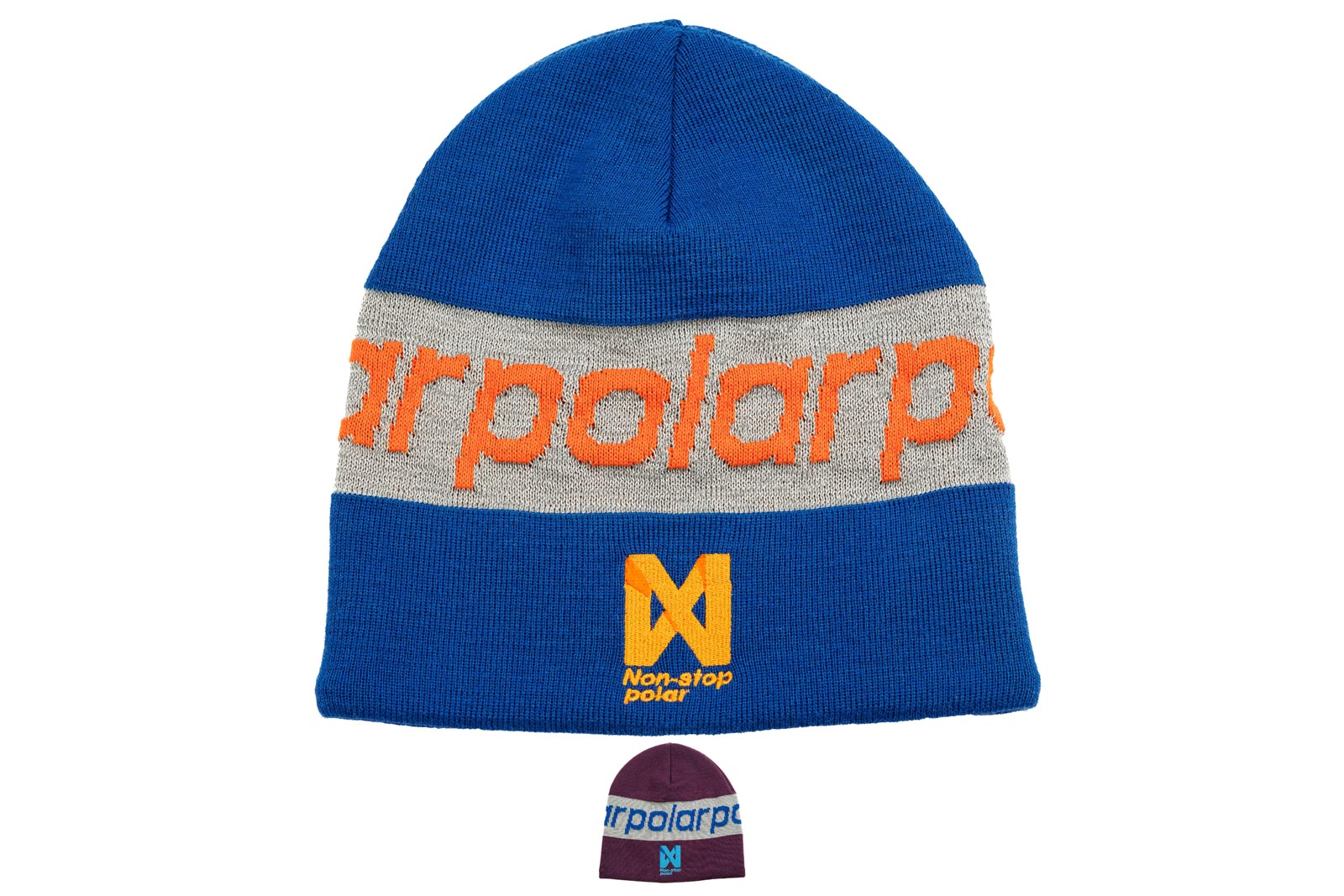 Non-stop polar Reflection Beanie