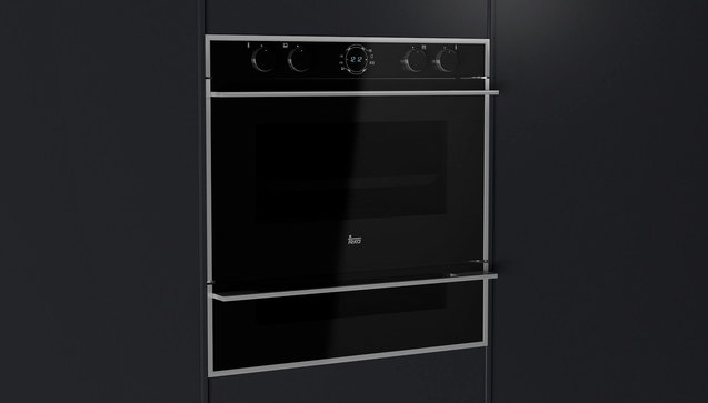 DualClean double cleaning system in the same oven