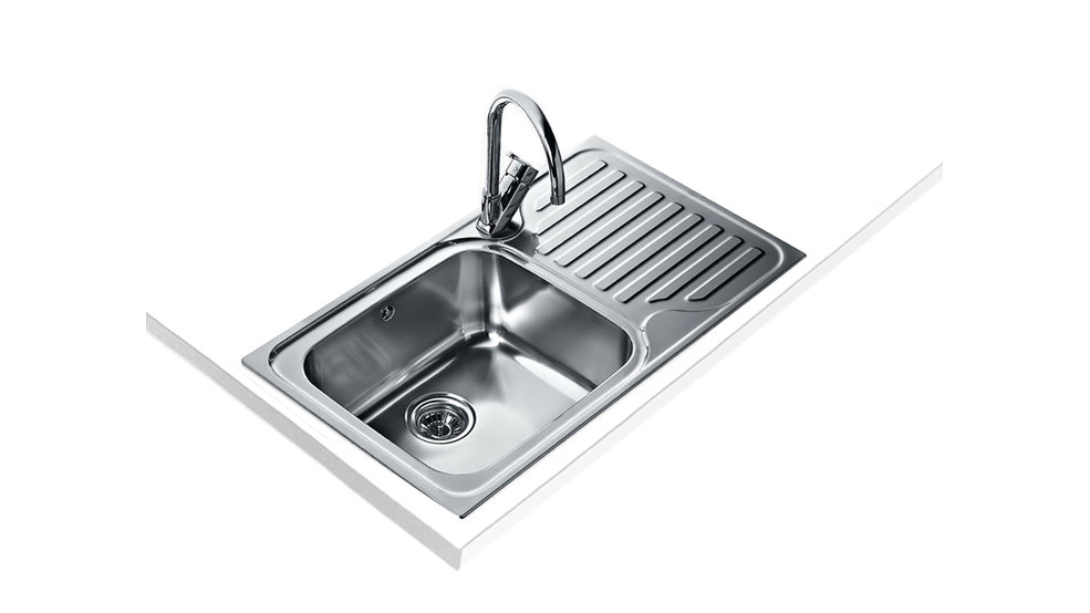 View 1 of sink Classic Max 1B 1D Stainless Steel by Teka