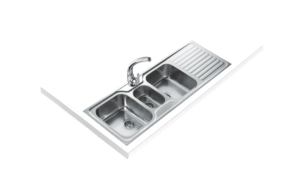 View 1 of sink CLASSIC 2½B 1D Stainless Steel by Teka
