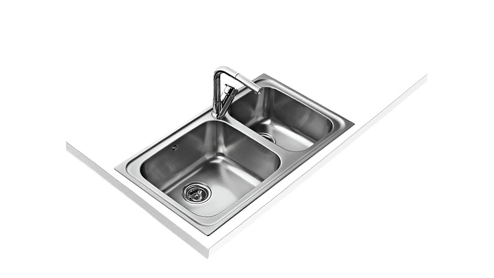 View 1 of sink Classic Max 2B Stainless Steel by Teka