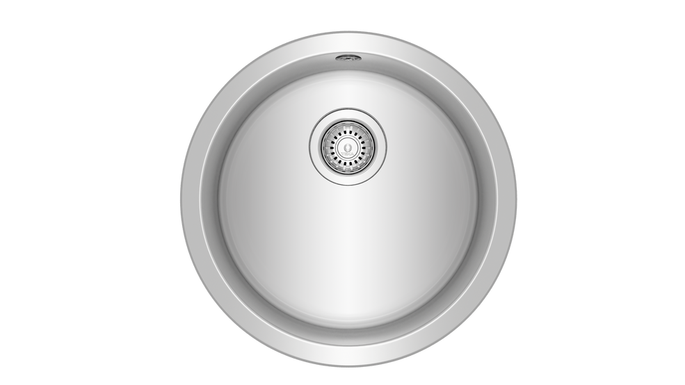 View 1 of sink Basico Ø450 1B Matt chrome by Teka