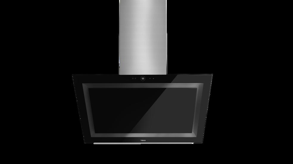 View 1 of hood QUADRO DLV 980 Black Glass by Teka