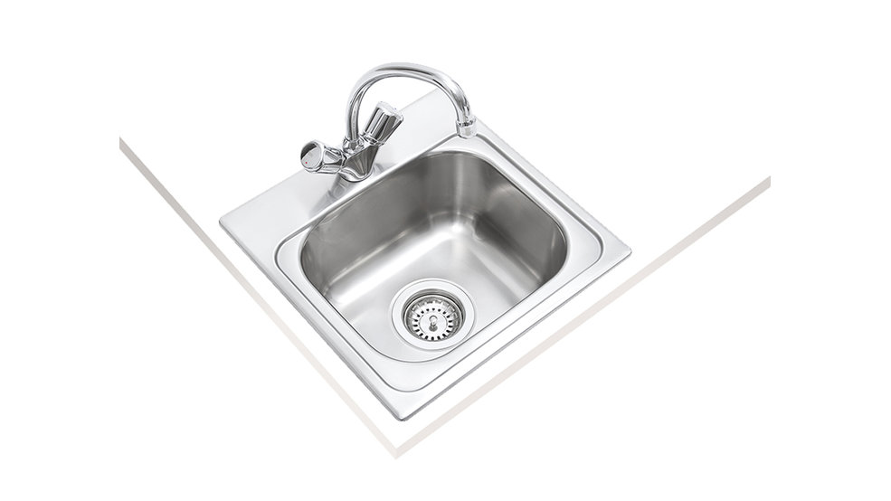 View 1 of sink 381.381 (15.15) 1B Stainless Steel by Teka