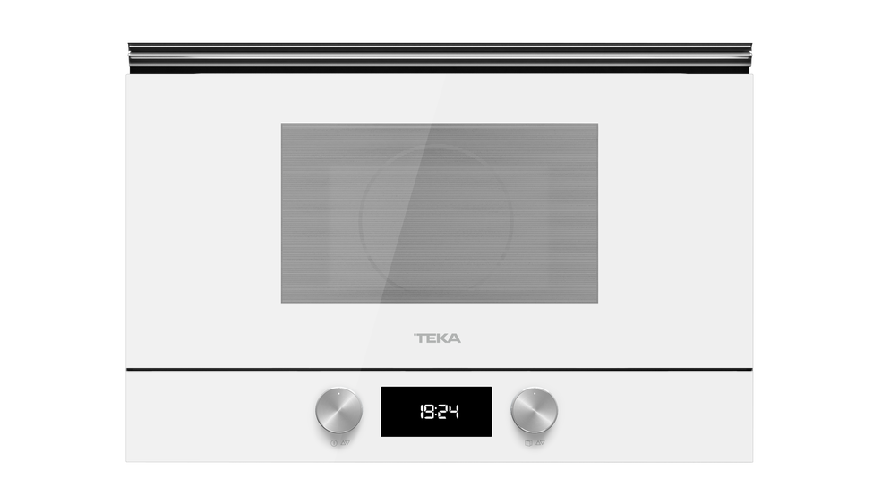 View 1 of microwave ML 8220 BIS L White Glass by Teka
