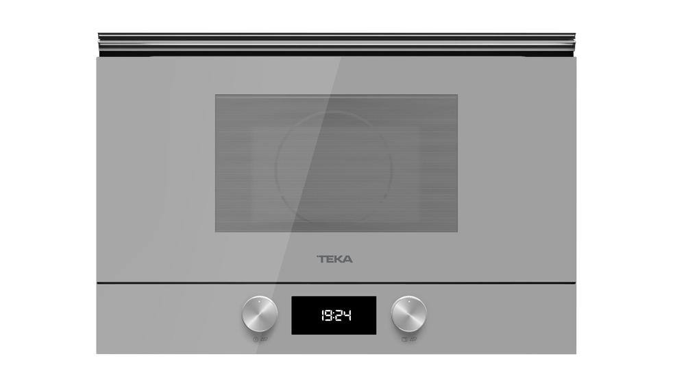 View 1 of microwave ML 8220 BIS L Steam Grey Glass by Teka