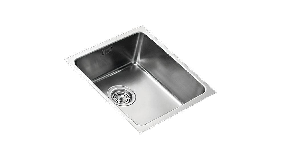 View 1 of sink Frame FR340F-T Stainless Steel by Teka