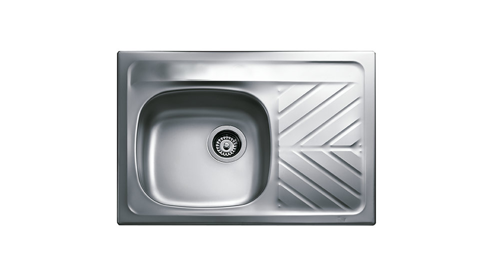 View 1 of sink 730.510 1B 1D Stainless Steel by Teka