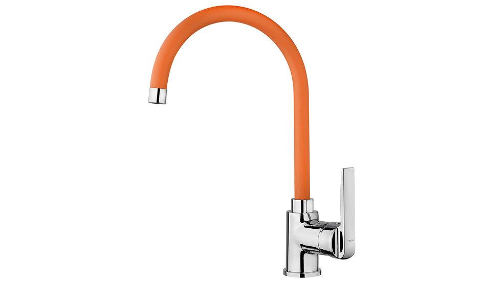 View 1 of sink tap IN 995 Orange by Teka