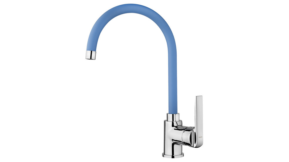 View 1 of sink tap IN 995 Blue by Teka