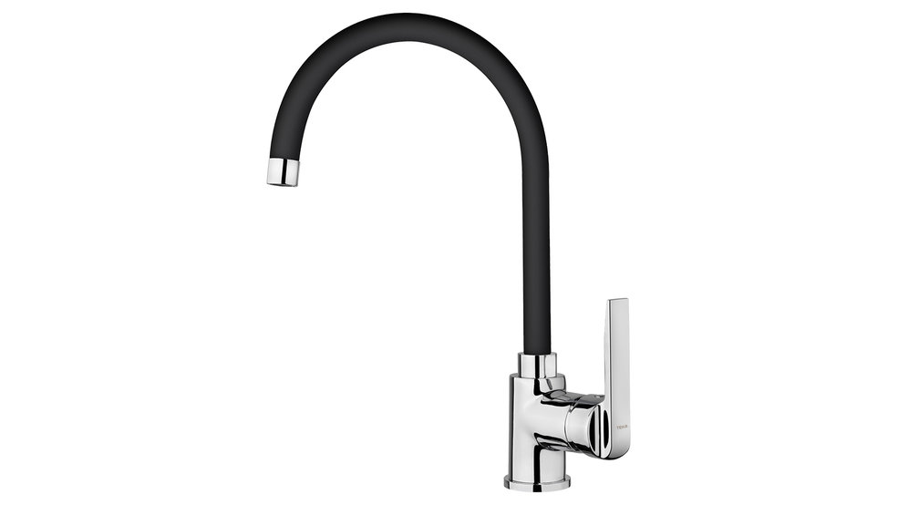 View 1 of sink tap IN 995 Black by Teka