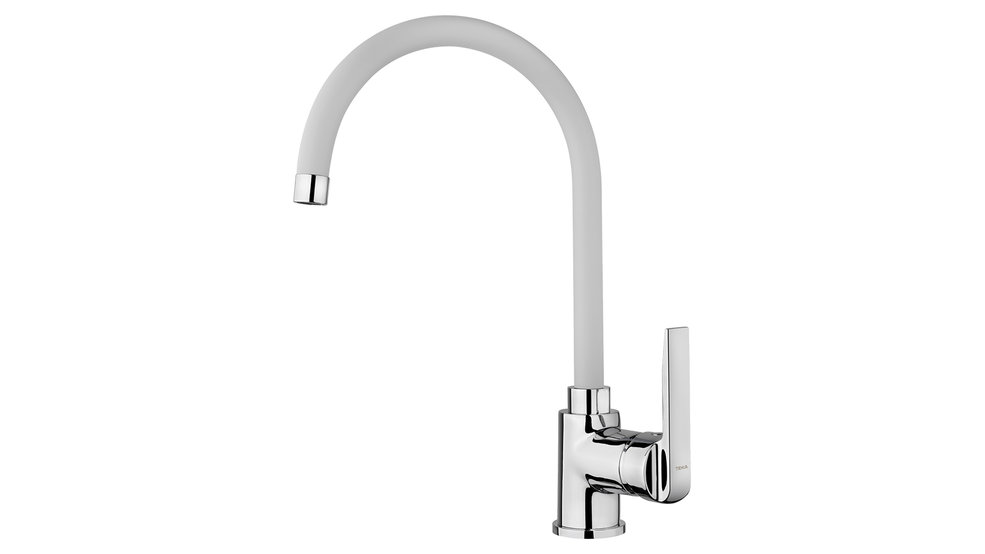 View 1 of sink tap IN 995 White by Teka