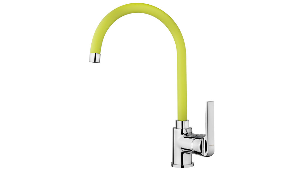 View 1 of sink tap IN 995 Yellow by Teka