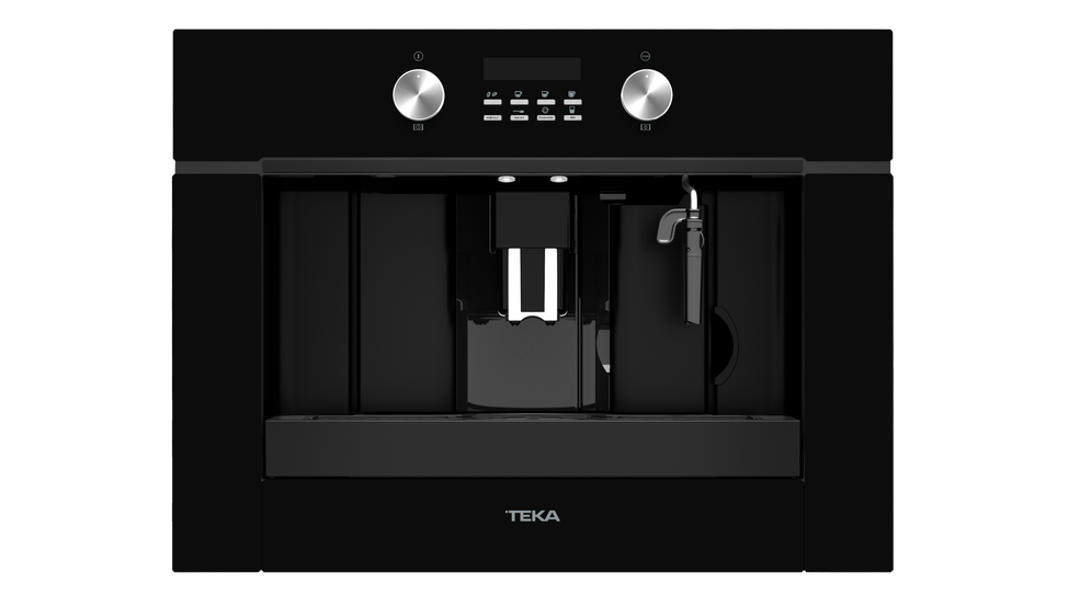View 1 of coffee machine CLC 855 GM Black Glass by Teka