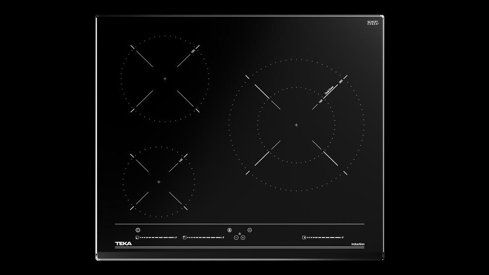 Imagen 1 de placa IZC 63015 MSS Cristal negro de Teka