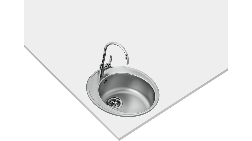 View 1 of sink STARBRIGHT 45 E-XN 1B ORB Stainless Steel by Teka