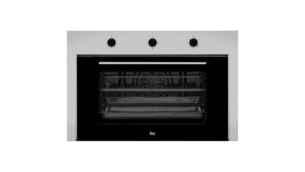 Multifunction gas oven with HydroClean cleaning system in 90 cm