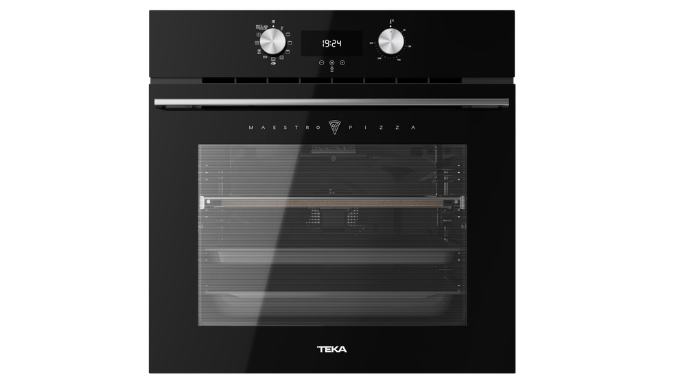 View 1 of oven HLB 8510 P Maestro Pizza Black Glass by Teka