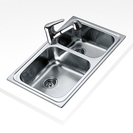 View 1 of sink Classic 2B 80 Stainless Steel by Teka