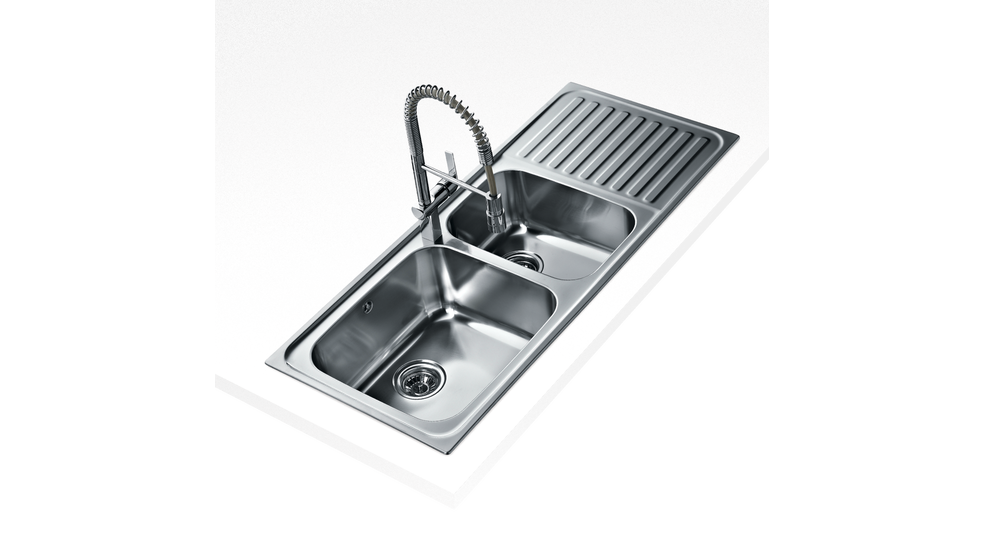 View 1 of sink Classic Max 2B 1D Stainless Steel by Teka