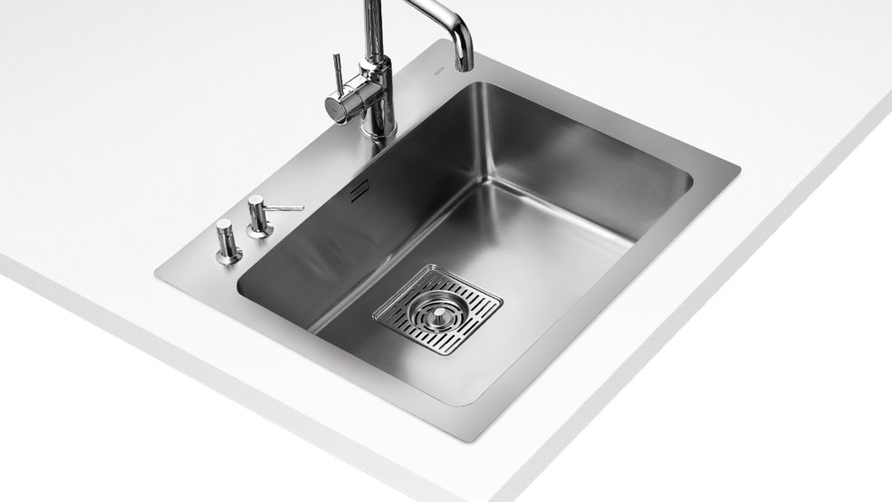 View 1 of sink Frame FR60SXF Stainless Steel by Teka