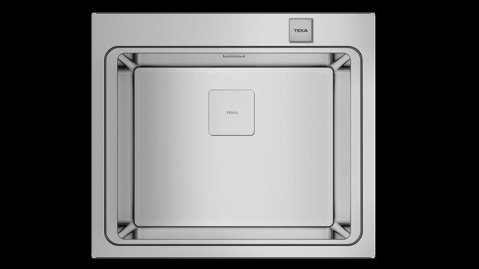 Imagen 1 de fregadero ZENIT RS15 1C Stainless Steel de Teka
