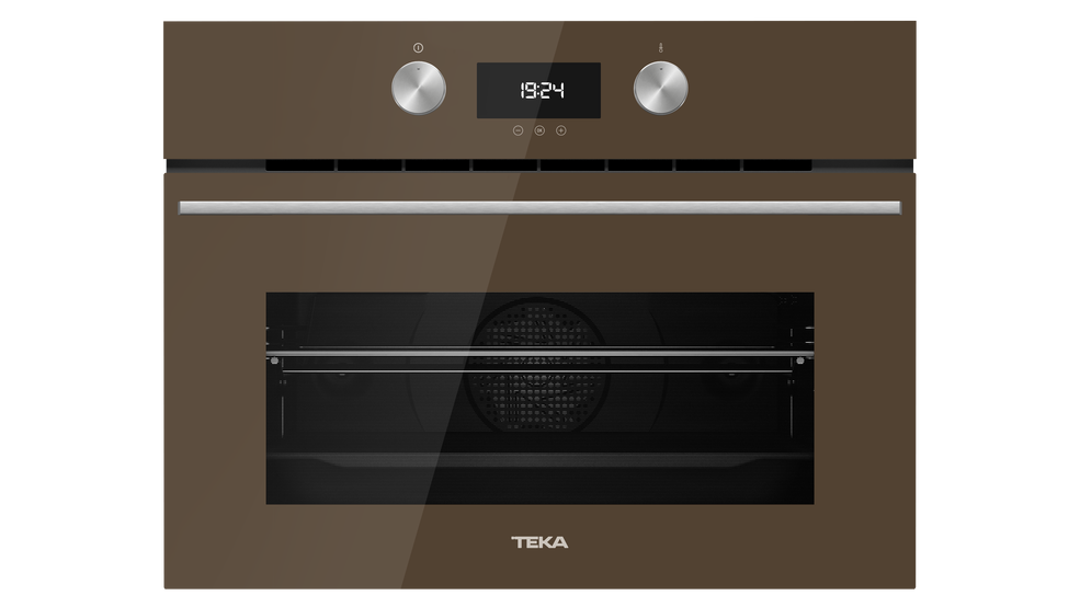 View 1 of Combi HLC 8400 London brick brown glass by Teka