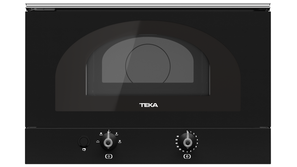 View 1 of microwave MWR 22 BI Anthracite Silver by Teka
