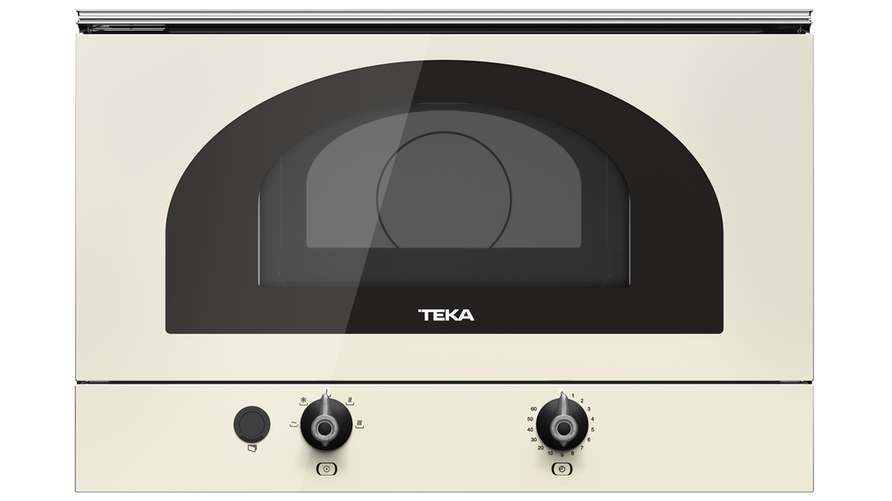 View 1 of microwave MWR 22 BI Vanilla Silver by Teka