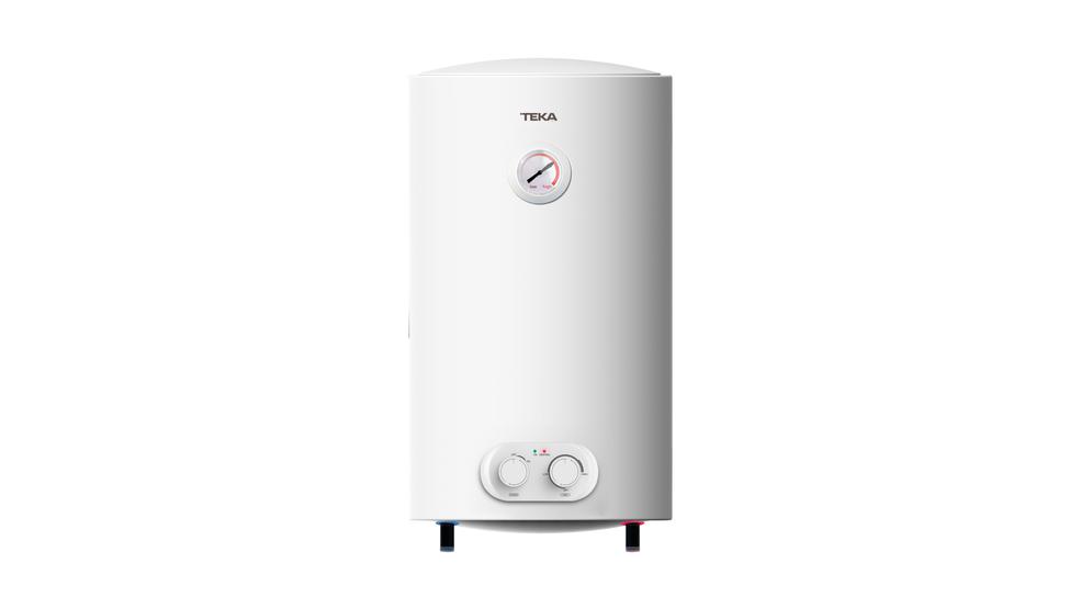 Termostato Temperatura 30-75/º 80L Resistencia Ceramica Termo Electrico Ewh80 Tanque Esmaltado 1500W 450X796 Blanco Teka