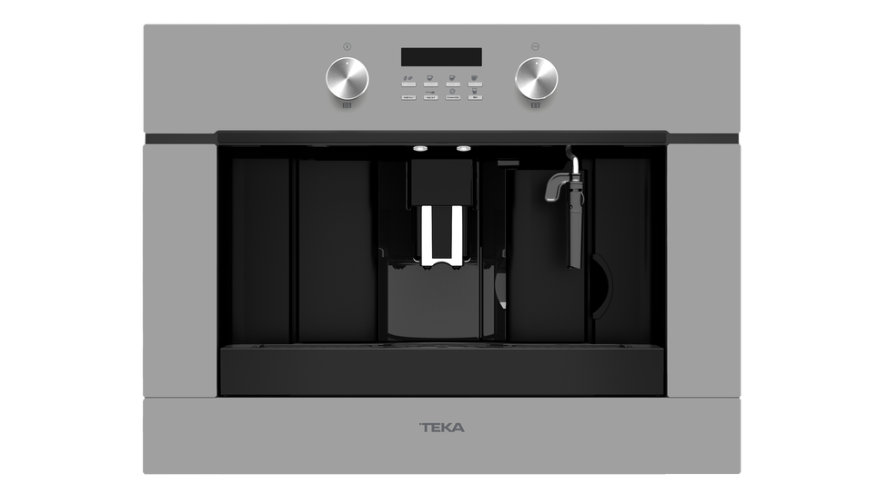 View 1 of coffee machine CLC 855 GM Steam Grey Glass by Teka
