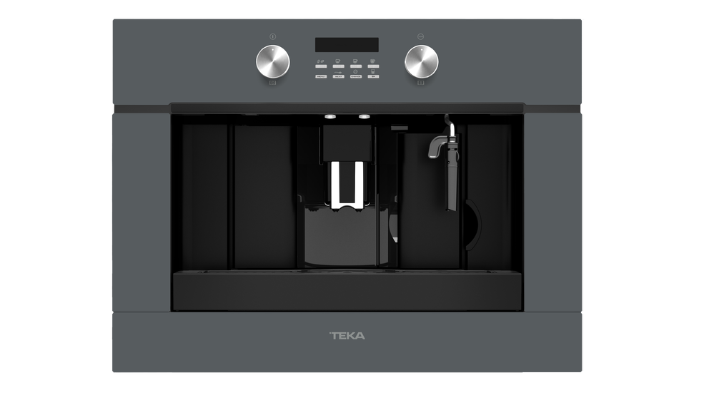 View 1 of coffee machine CLC 855 GM Stone Grey Glass by Teka
