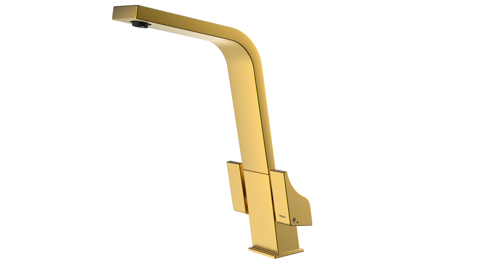 View 1 of sink tap ICT 915 Brass by Teka