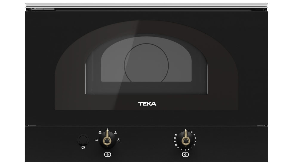 View 1 of microwave MWR 22 BI Anthracite Brass by Teka