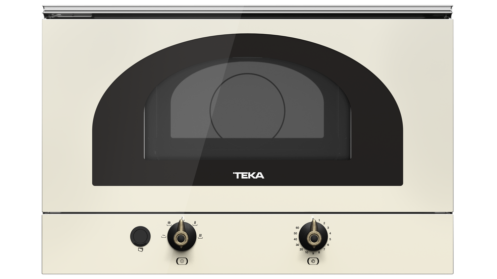 View 1 of microwave MWR 22 VN Vanilla Brass by Teka