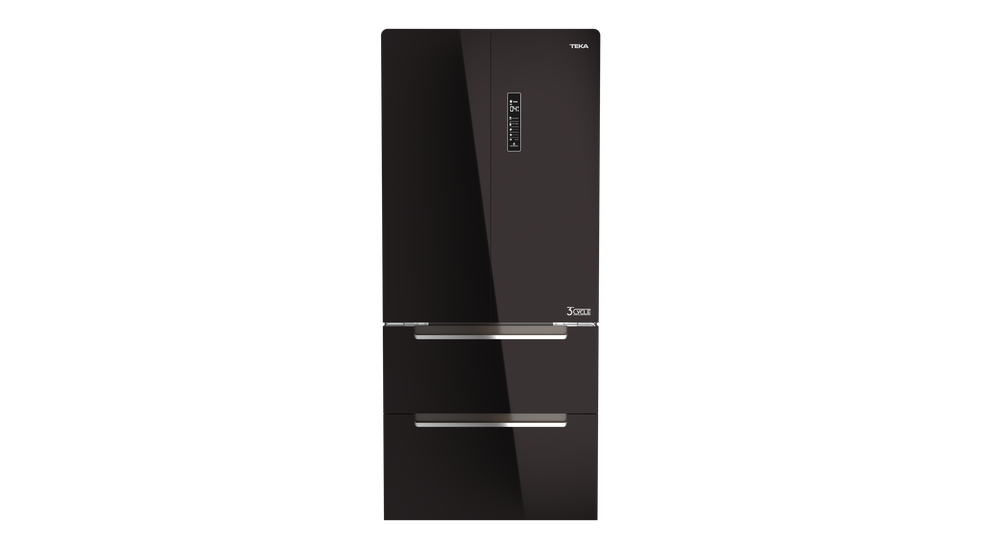 View 1 of refrigerator RFD 77820 GBK EU Black Glass by Teka