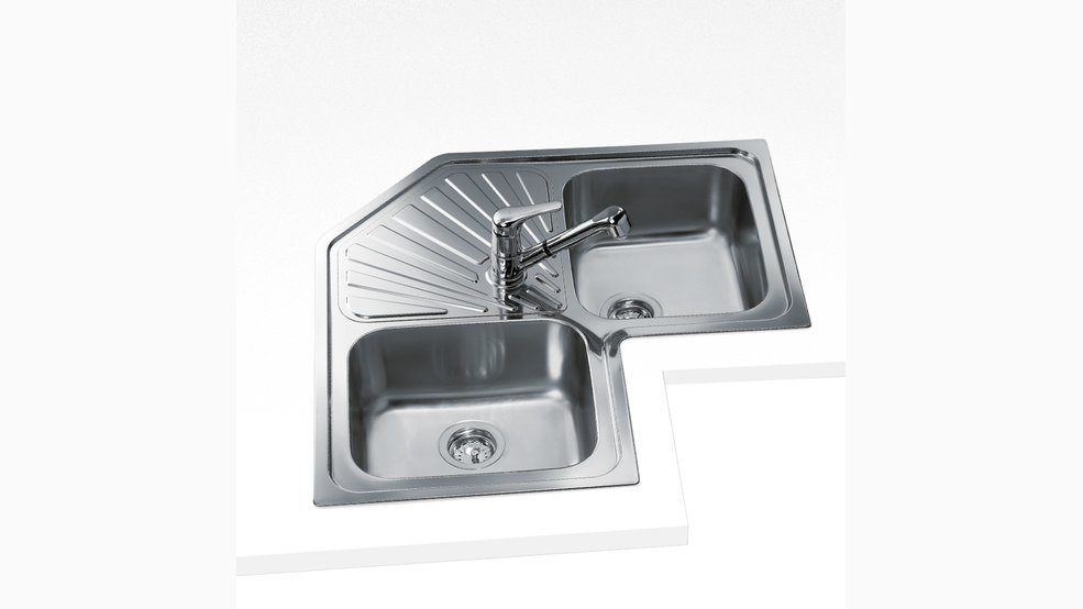 View 1 of sink ANGULAR 2B Stainless Steel by Teka