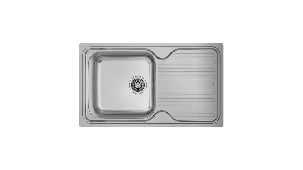 View 1 of sink CLASSIC 1B 1D Stainless Steel by Teka