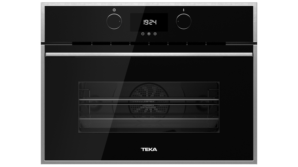 View 1 of Combi HLC 844 C Black Glass by Teka