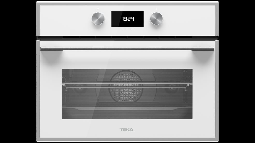 Imagen 1 de Combi HLC 840 White Glass Inox de Teka