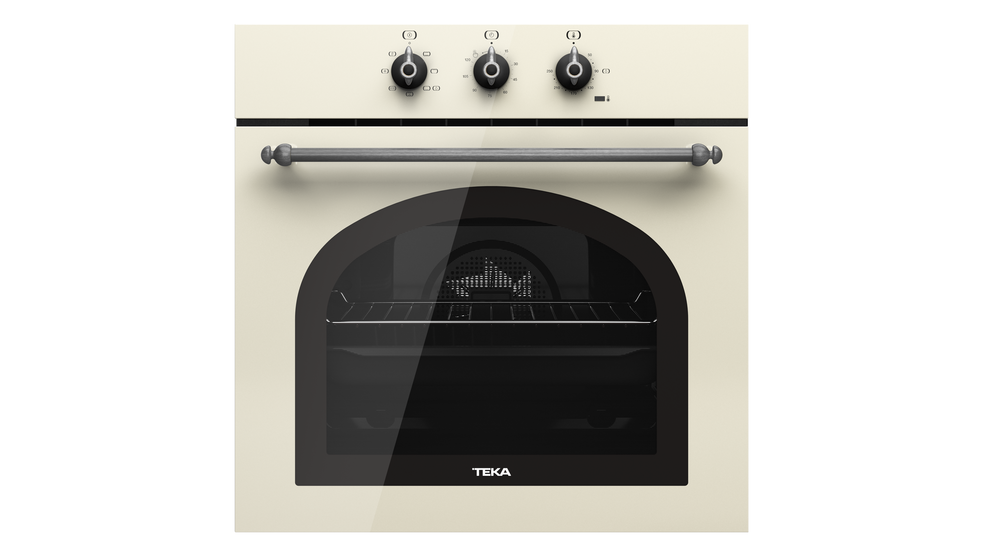 View 1 of oven HRB 6100 Vanilla Silver by Teka