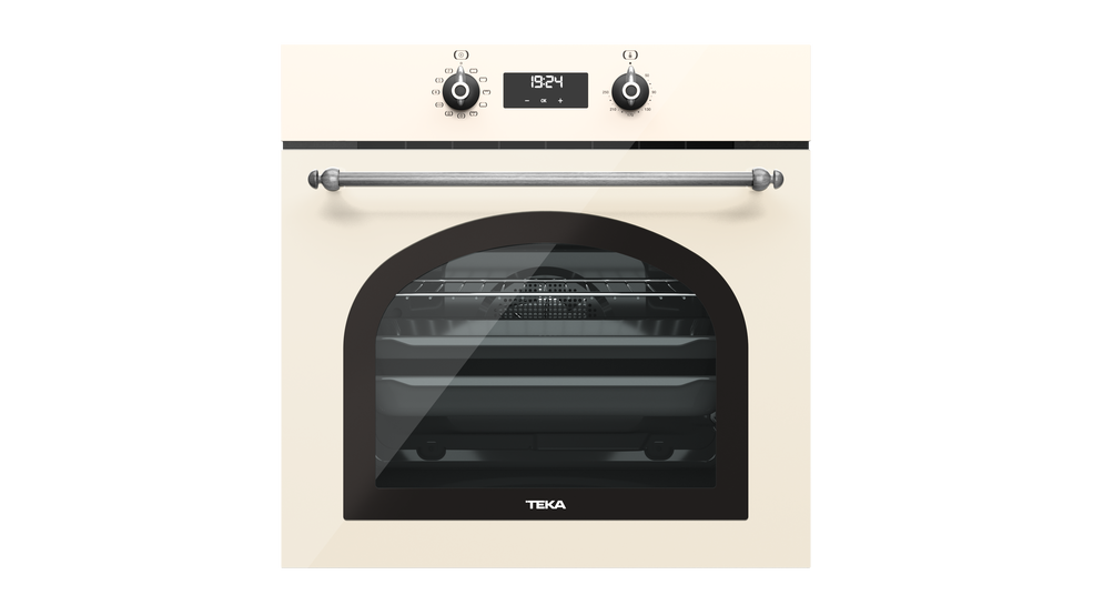 View 1 of oven HRB 6400 Vanilla Silver by Teka